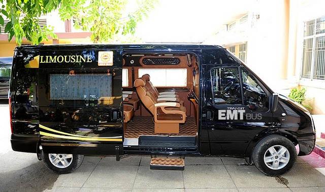 xe limousine huế đà nẵng