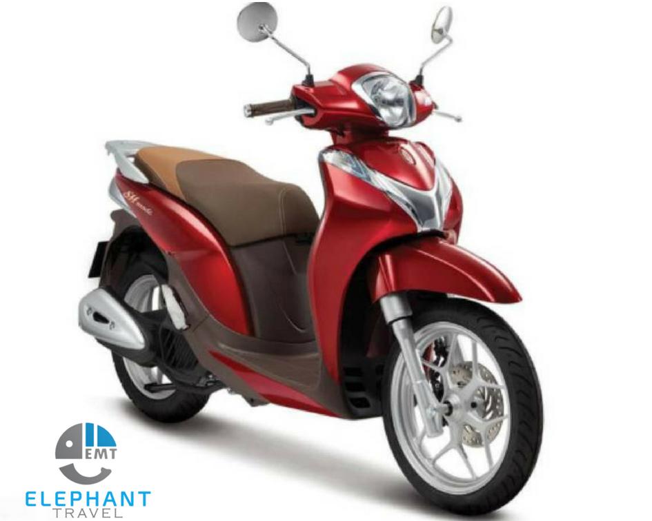 Xe máy để đi Đà Nẵng ra Huế