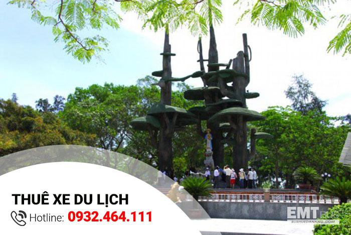 Dịch vụ thuê xe từ Huế đi La Vang từ 4-7-16-45 chỗ