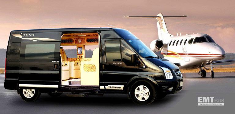 Xe Limousine đón sân bay Đà Nẵng Huế