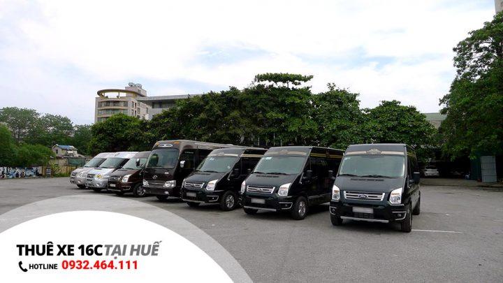 Dịch vụ cho thuê xe 16 chỗ tại Huế