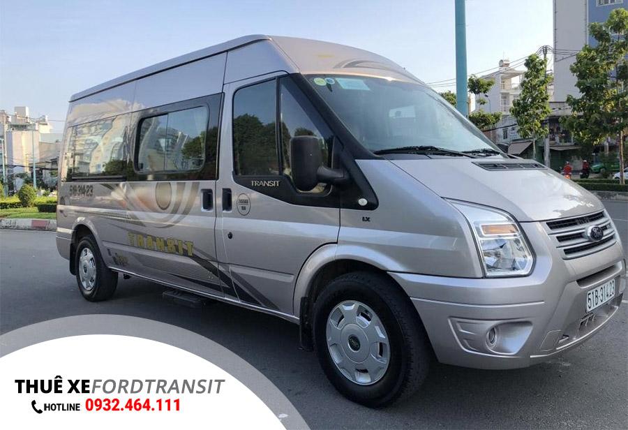 Cho thuê xe Ford Transit 16 chỗ tại Huế – Đà Nẵng – Hội An