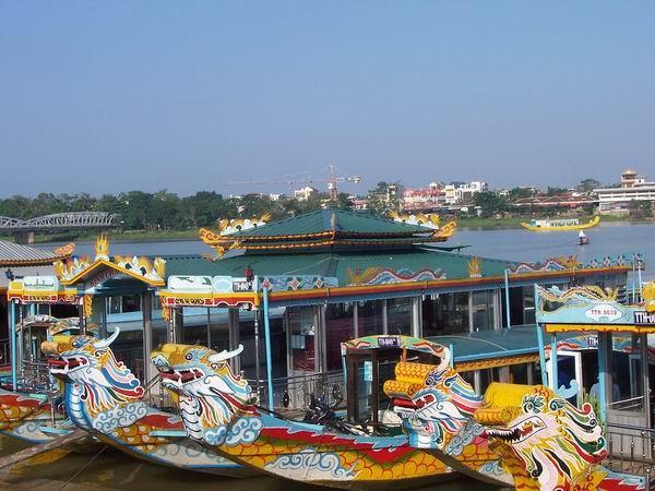 Huế sẽ có thêm 2 bến du thuyền 40 tỉ đồng trên sông Hương