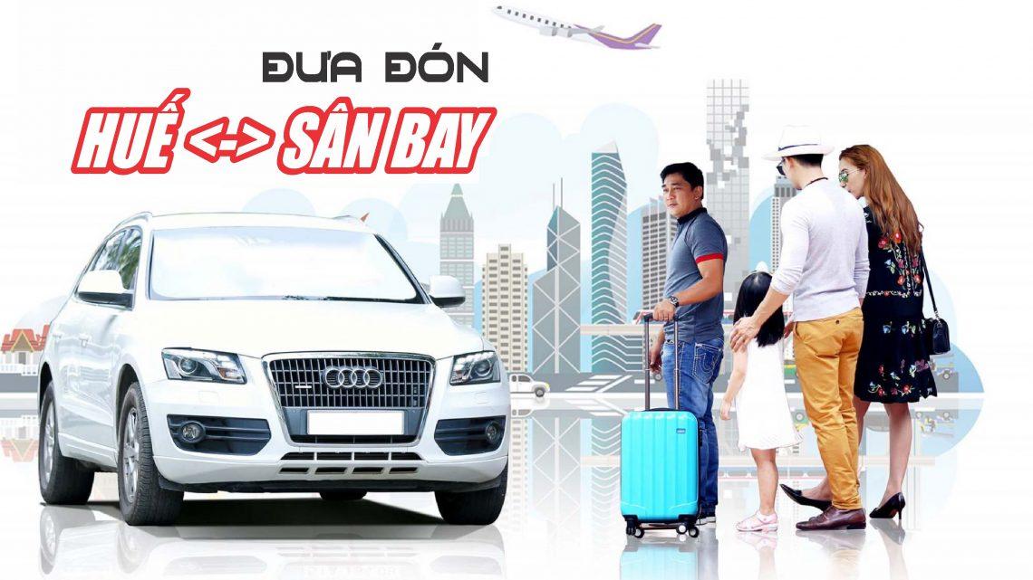 Vé xe Bus chất lượng cao đưa đón sân bay Phú Bài, Huế