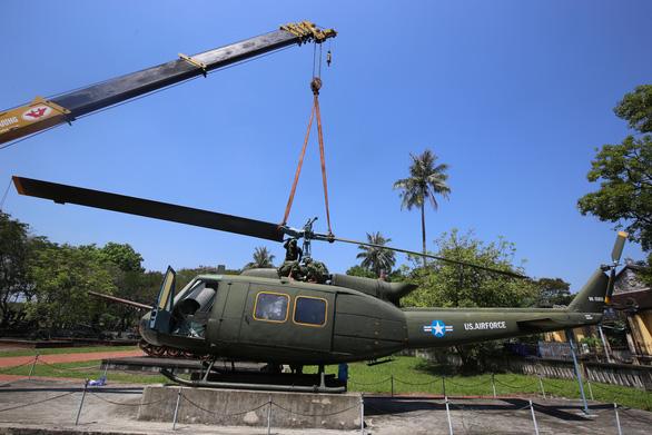 Di dời máy bay, xe tăng ở Bảo tàng lịch sử Huế về nơi mới